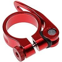 Tija De Sillín De Liberación Rápida Abrazadera De Titanio Aleación De Aluminio Bici Bicicleta - Rojo, 31.8mm