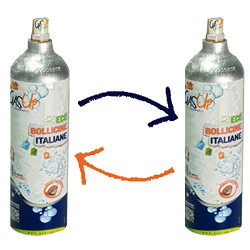 Excellent Quality Gasata Per Gas-up Da 450gr Bombola Co2 Per Acqua Frizzante compreso Gas