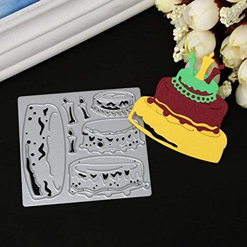 Stanzschablone Scrapbooking, SHOBDW Frohe Weihnachten & Halloween Metall Schneiden stirbt Schablonen Scrapbooking Prägung DIY Handwerk ()