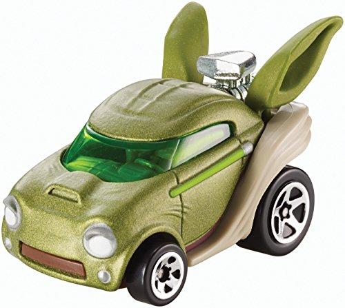 Mattel Hot Wheels DTB07 vehículo de Juguete - Vehículos de Juguete, Coche, Star Wars, Yoda, 3 año(s), 1:64