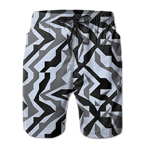 Jiger Disguise Mens Swim Trunks Quick Dry Board Shorts with Pockets Summer Beach Short with Mesh Liner£¬ XL - Mesh Cheer Shorts