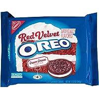Oreo Red Velvet Sandwich Cookie, 12.2 Ounce (Pack of 12)