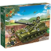 Banbao Construction Building Bricks Blocks 260 Piece Military Tiger II Tank - Can Use With Leading Brands - Entertaining Activity Toys & Games Age 5+ Top Selling Boy Children Boys Child Kids - Wonderful Idea for Christmas Easter or Birthday Present Gift - Compare prices on radiocontrollers.eu
