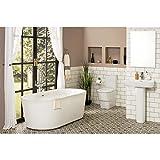 Komplettbad-Set mit freistehender Badewanne