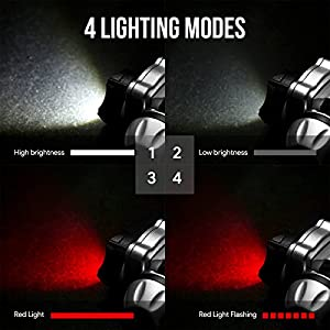 LED Headlamp Headlight, Battery Powered and Included, Light Weight from Lighting EVER