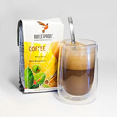 Bulletproof Coffee Whole Bean Swiss Water Decaf, 340g from Bulletproof