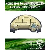 Filtre Anticalcaire de Rechange pour les Nettoyeurs Vapeur Hoover SteamJet SSW1700 (Alternative à U67)