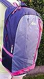 H&K-Sportperformance GbR Rucksack 21 Liter violett/grau zum Wandern, Trekking, Radfahren, Reisen oder Spazieren