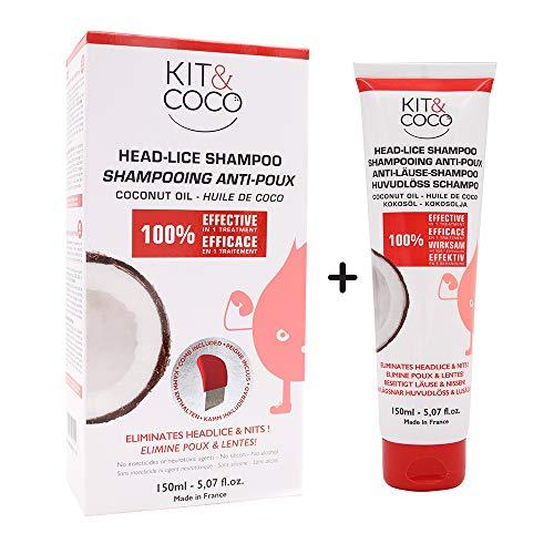 Head lice & nits Complete Treatment kit (150ml) + Extra (150ml) Shampoo. Save 10%