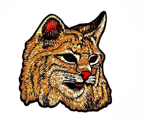 rabana Wild Animal Kitty Cat Cartoon Kids Kinder Cute Animal Patch für Heimwerker-Applikation Eisen auf Patch T Shirt Patch Sew Iron on gesticktes Badge Schild Kostüm