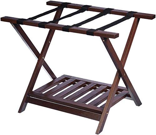 AmazonBasics - Caballete plegable madera equipaje