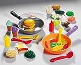 Unbekannt Pfanne mit Pfannenwender und 10-12 Lebensmitteln, 19 cm Durchmesser