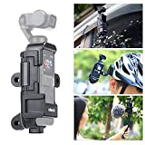 XuBa Ulan-ZI Vlog Extended Housing Case for D-JI Os-mo Pocket Cage with Microphone Cold Shoe 3 Go-Pro Adapter