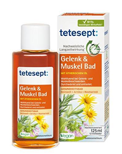 Tetesept Gelenk und Muskel Bad, 2er Pack (2 x 125 ml)