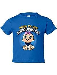 Camiseta niño nacida para ser Lorquinista Lorca fútbol