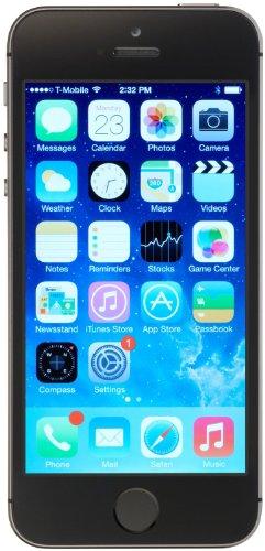 Apple iPhone 5S Smartphone (10,2 cm (4 Zoll) Display, 32GB Speicher, iOS) grau Smart Phone Apple Freigeschaltet