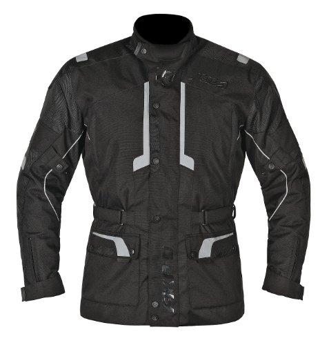 Preisvergleich Produktbild Akito Terra Motorrad Wasserdicht Jacke Städtische,  Jacken Moto schwarz 4XL schwarz