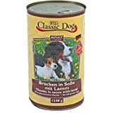 Classic Dog | Adult Brocken in Soße mit Lamm | 6 x 1,24 kg