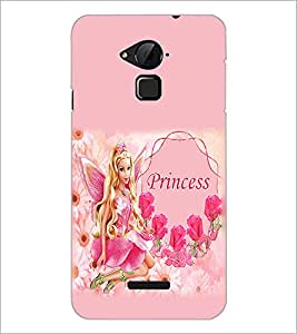 PrintDhaba Princess Barbie Doll D-1016 Back Case Cover for COOLPAD NOTE 3 LITE (Multi-Coloured)