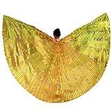 Belly Dance LED isis Flügel leuchten mit Sticks Performance Clothing Carnival Costumes