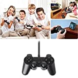 #5: Famous Quality USB 2.0 Game Pad Single Vibration Dual Joystick Wired Game Controller for Laptop PC