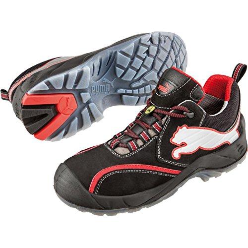 Puma Viking S2 Chaussures de sécurité, Chaussures de travail, EN Noir/rouge