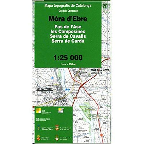 Descargar Libro Mapa topogràfic de Catalunya 1:25 000. Capitals comarcals. 20-Móra d'Ebre (Cartografia 1:25 000) de Vv.Aa.
