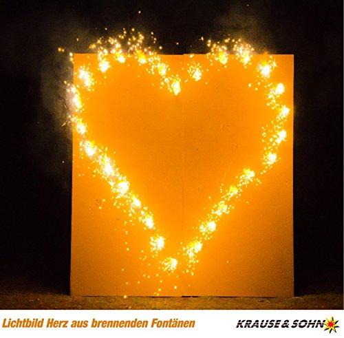 Lichterbild Brennendes Herz thumbnail