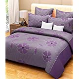 3D Home Design Cotton Reversible Doublebed Blanket Cover/Dohar/Quilt Cover- 90 X 90 With Zip Closure