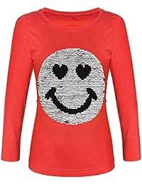 BEZLIT Mädchen Pullover Wende-Pailletten Sweatshirt 21512