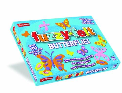 Unbekannt Fuzzy Filz 8.448cm Schmetterlinge Filz Stücke -