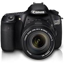 Canon EOS 60D + EF-S 18-135mm - Cámara digital (18 MP, SLR Camera Kit, CMOS, 7,5x, 18 - 135 mm, 6,7 cm) Negro