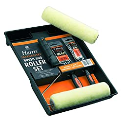 Harris 4337 Paint Brush and Twin Sleeve Roller Kit