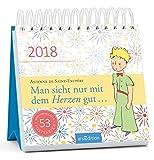 Man sieht nur mit dem Herzen gut 2018: Postkartenkalender