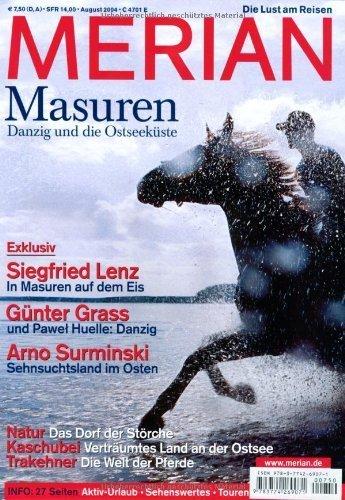 MERIAN Masuren Danzig und die Ostseeküste (MERIAN Hefte) von Andreas Hallaschka (Herausgeber) (20. Juli 2004) Taschenbuch