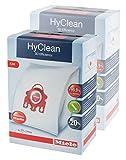 Miele 2x Staubsaugerbeutel FJMHyClean 3D Efficiency für Compact-, S700-, S4000-und S6000-Serie