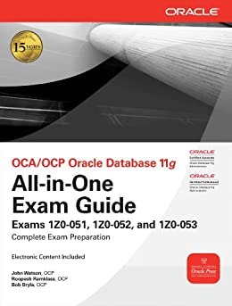 OCA/OCP Oracle Database 11g All-in-One Exam Guide par [Bryla, Bob, John Watson, Roopesh Ramklass]