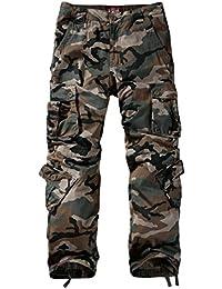 Match 3357 - Pantalones Cargo para Hombre 093b08fd8355