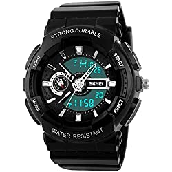 Men and Women Waterproof Watch Automatic Plastic Fashion Wristwatch