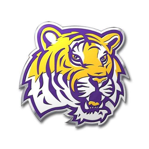 Offiziell lizenzierte NCAA Aluminium-Emblem–Louisiana State Tigers