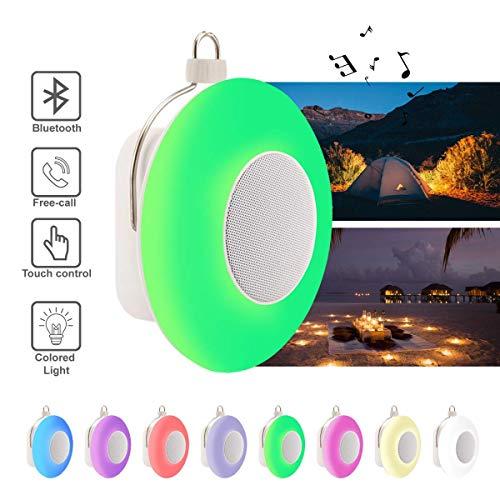 Nachtlicht Bluetooth Lautsprecher, Schlaf Nachtlicht mit Musik tragbarer drahtloser Lautsprecher,bunte Beleuchtungseffekt