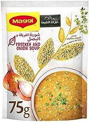 Maggi Freekeh and Onion Soup, Supergrains 75 gm