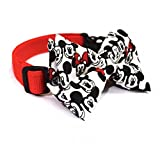 #8: That Dog In Tuxedo Mickey Mouse Dog Bow Tie Pet Collar (M-L)
