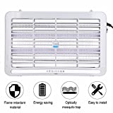 HapBest LED Electronics Mosquito Killer Trap Moth Fly Wasp Ultraviolet Light Mosquito Insects