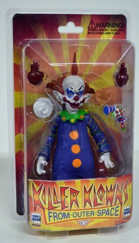 Amok Time Killer Klowns from Outer Space Tiny Deluxe Action Figure by Killer Klowns from Outer Space (From Outer Klowns Killer Space)