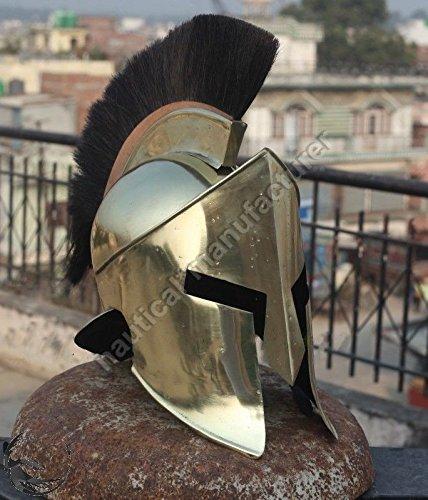 ANTIQUENAUTICAS 300 Hollywood Film König Leonidas Spartan Helm mittelalterlichen Halloween Kostüm ()