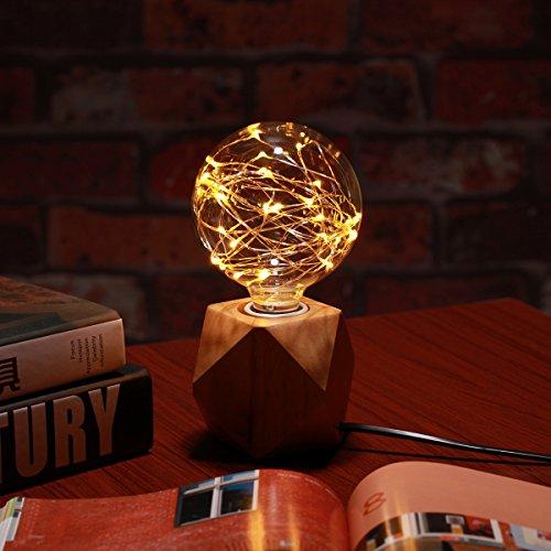 ED Glühlampe Glühbirne Retro Lampe für Nostalgie Antik Beleuchtung Party Weihnachten Dekoration [Energieklasse A+] (Warmweiß) (Retro-design-dekoration)