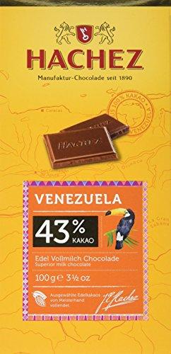 Hachez Ursprungstafel Venezuela, 10er Pack (10 x 100 g)