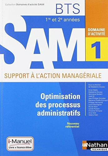 Domaine d'activité 1 - Optimisation des processus administratifs par Véronique Gaubert