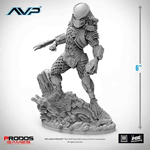 AvP The Hunt Begins Tabletop Game Statue Predator Jungle Hunter PRODOS Games